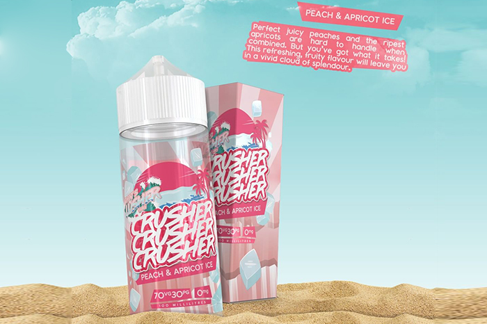 Crusher Eliquid Peach Apricot Ice review