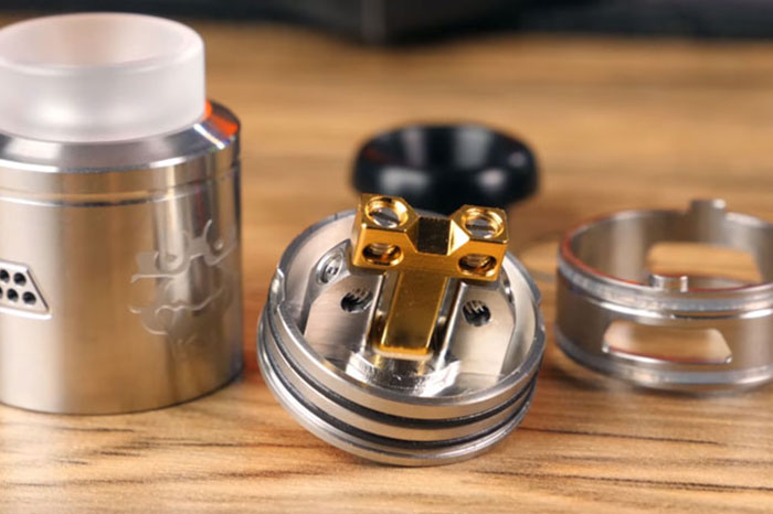 RDA atomizer for drip
